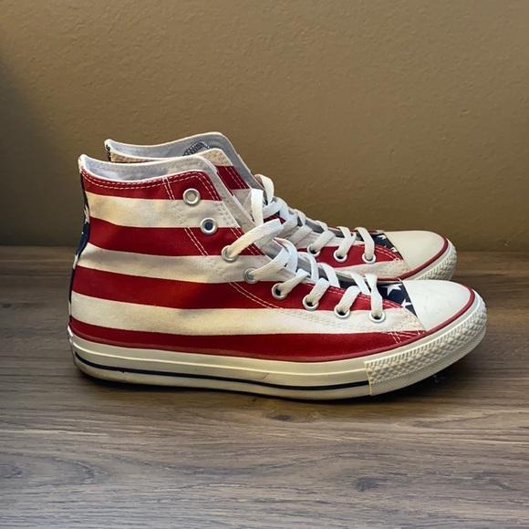 American Flag high top Converse All Star